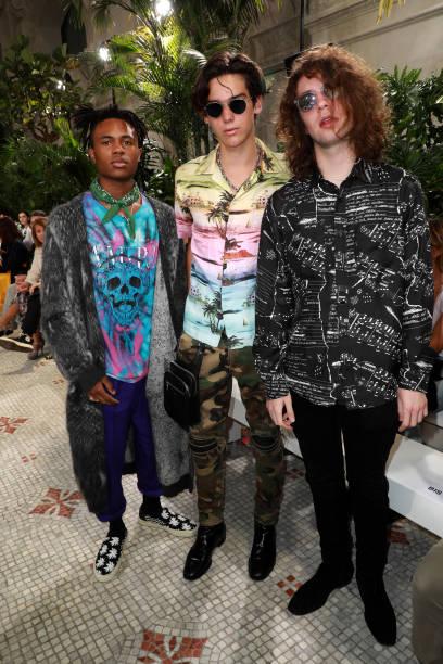 FRA: AMIRI : Front Row - Paris Fashion Week - Menswear Spring/Summer 2020