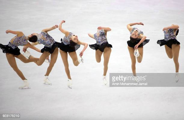 Kailani Craine of Australia competes during the Ladies Single Skating Free Skating on day fourteen of the PyeongChang 2018 Winter Olympic Games at...
