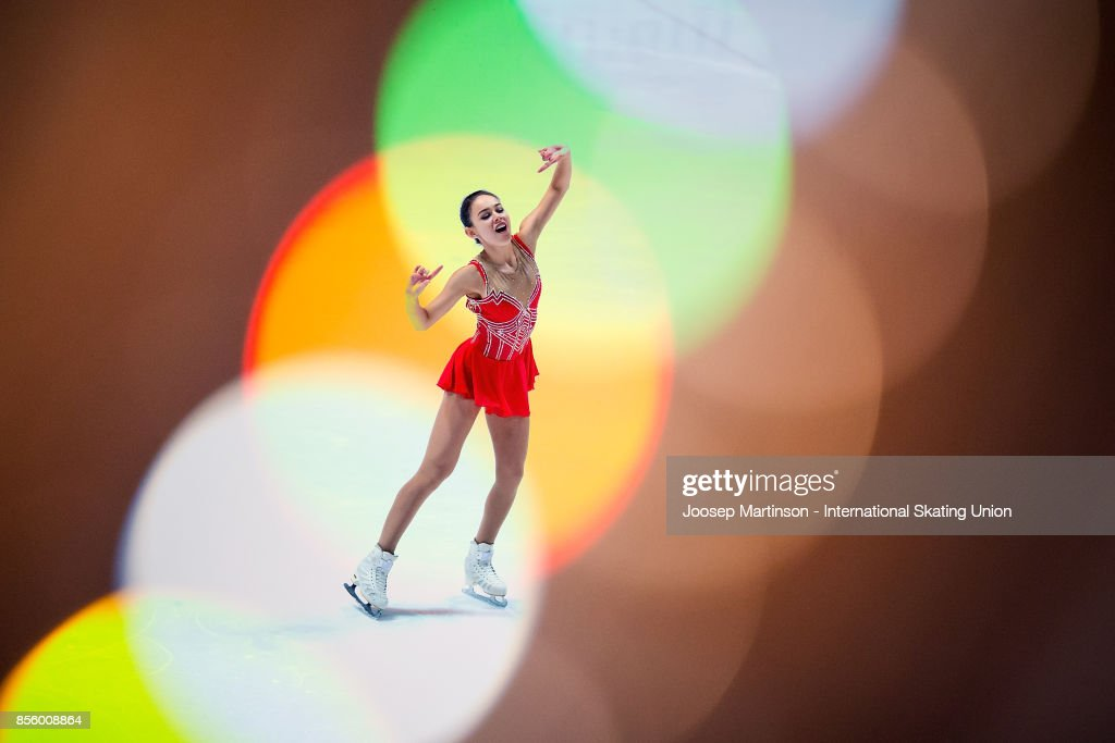 Kailani Craine of Australia performs in the Gala Exhibition during the Nebelhorn Trophy 2017 at Eissportzentrum on September 30, 2017 in Oberstdorf, Germany.