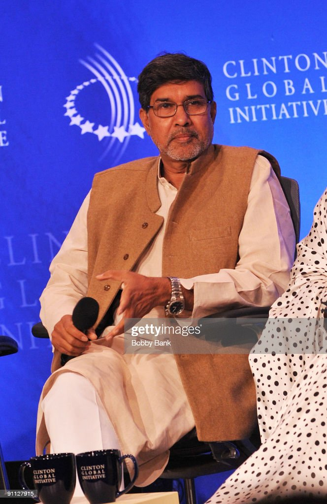 2009 Clinton Global Initiative - Human Trafficking Special Session : News Photo