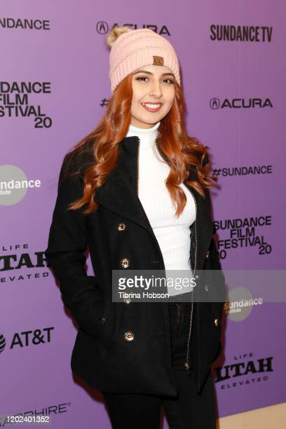 Kailei Lopez attends the 2020 Sundance Film Festival La Leyenda Negra Premiere at Egyptian Theatre on January 27 2020 in Park City Utah
