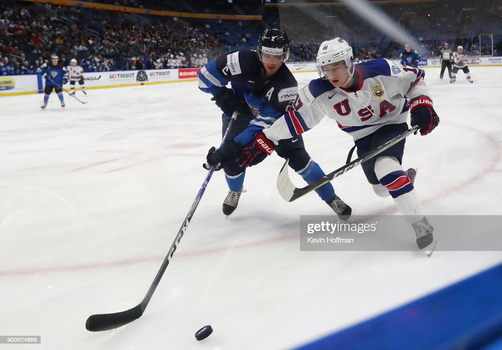 United States v Finland - 2018 IIHF World Junior Championship