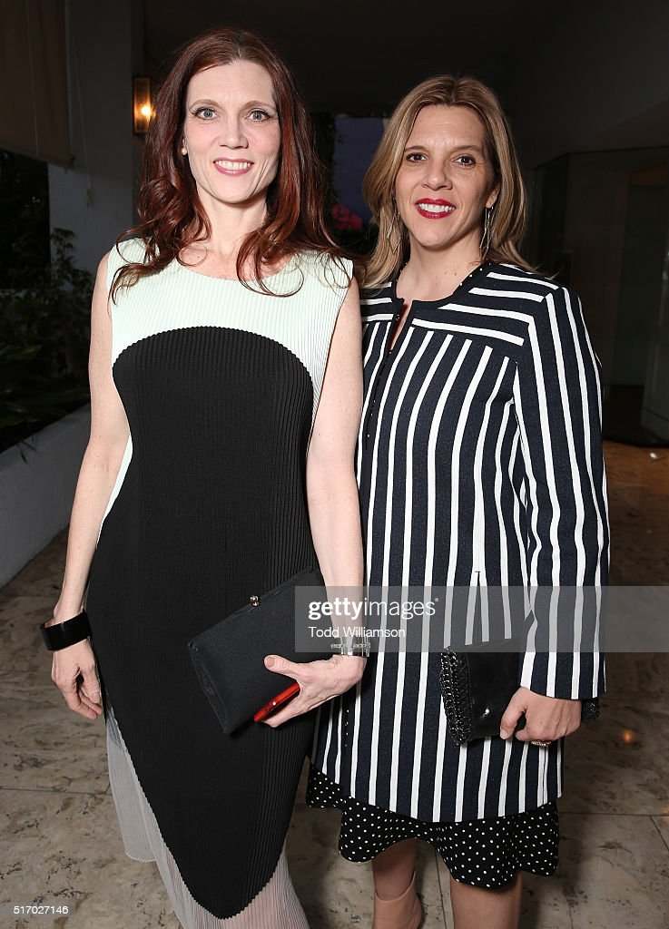 Kaili Vernoff and sister/Executive producer and writer Krista Vernoff attends a screening and panel Discussion With The Women Of Showtime's 'Shameless' at The London Hotel on March 22, 2016 in West Hollywood, California.