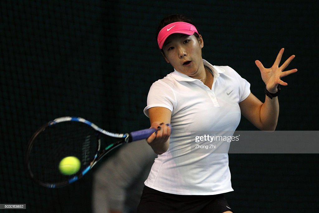 2016 WTA Shenzhen Open - Day 1 : News Photo