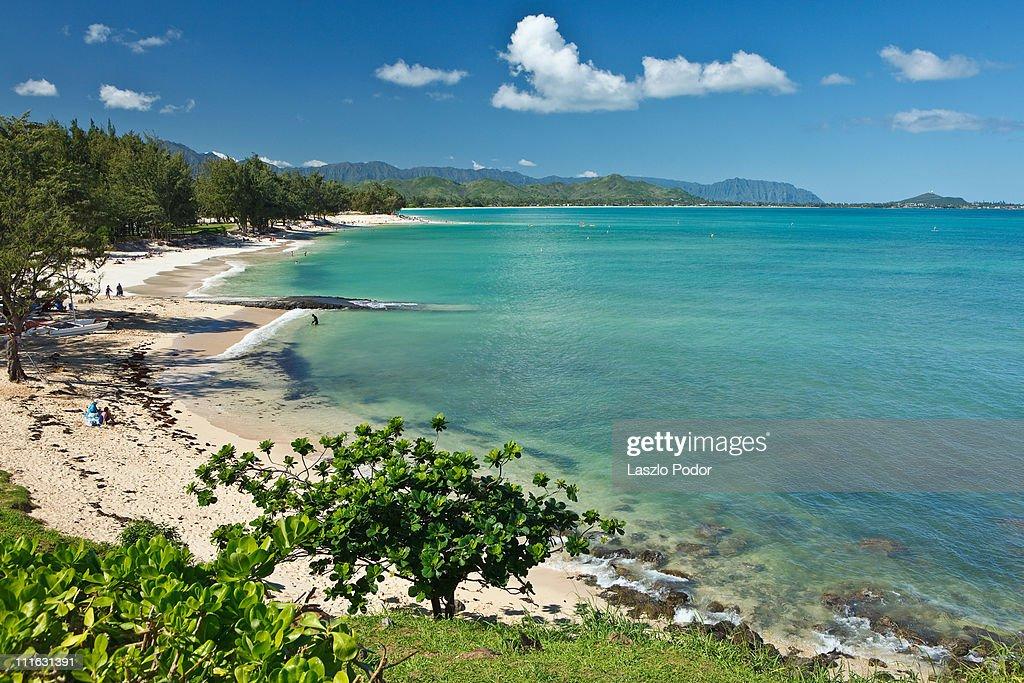 Kailua Beach Park - Oahu, Hawaii, USA : Stock Photo