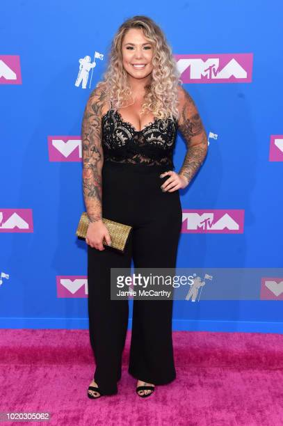 Kailyn Lowry attends the 2018 MTV Video Music Awards at Radio City Music Hall on August 20 2018 in New York City
