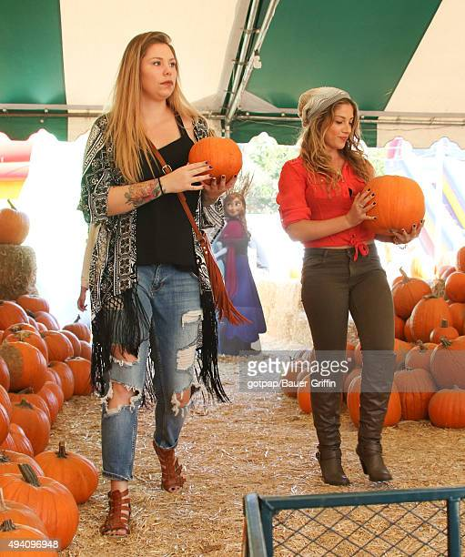 Kailyn Lowry is seen on October 24 2015 in Los Angeles California