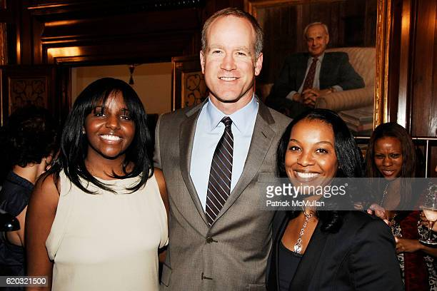 Kailynn Lewis Peter Nordstrom and Faith Brown attend NORDSTROM Private Shopping Event With Designer Appearances at Harold Pratt House on June 18 2008...