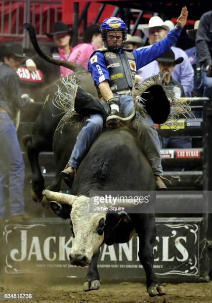 Kaique Pacheco Rides Mystical During The 15 Round Of Pbr Kansas City Invitational