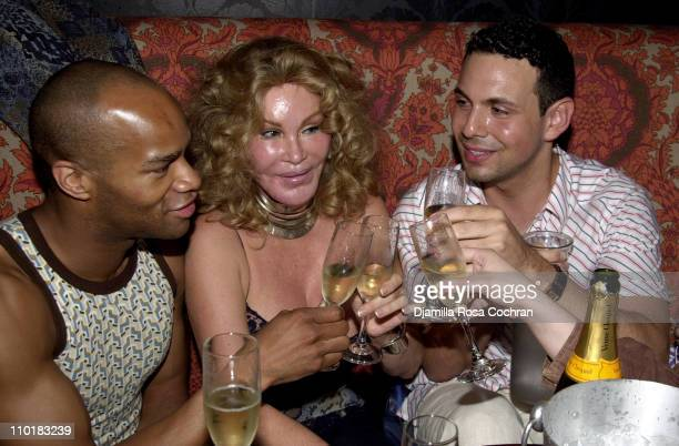 Kairi Jocelyne Wildenstein and Matt Tratner during Sophia Lamar's Birthday Party at Plaid at Plaid in New York City New York United States