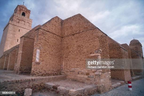 kairouan mosque - kairwan stock pictures, royalty-free photos & images