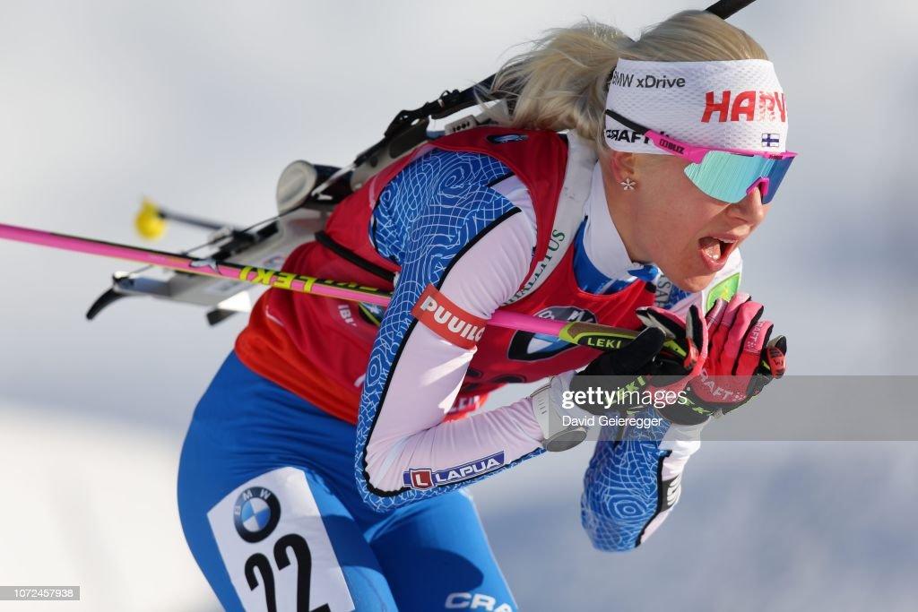 IBU World Cup Biathlon Hochfilzen - Women 7.5 km Sprint : News Photo