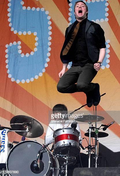 Kaiser Chiefs during 2007 Glastonbury Festival - Day 3 at Worthy Farm in Pilton, Somerset.