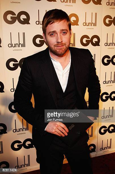 Kaiser Chiefs lead singer Ricky Wilson attends the GQ Men of the Year Awards held at the Royal Opera House Covent Garden on September 2 2008 in...