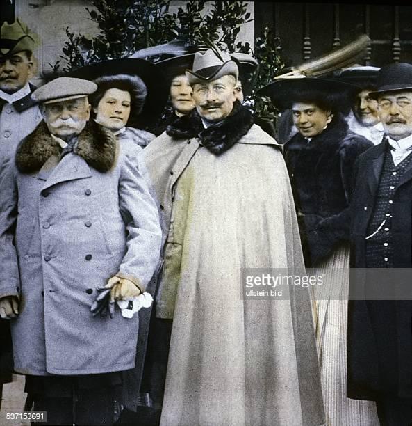 Kaiser Wilhelm II mit Graf Zeppelin