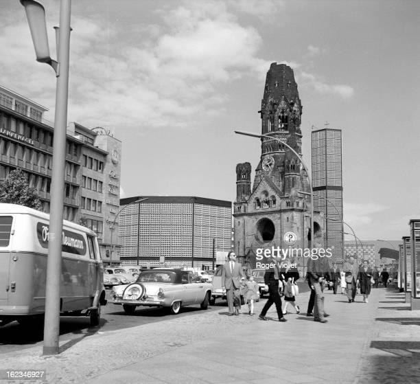 Kaiser Wilhelm Memorial Church Berlin circa 1960