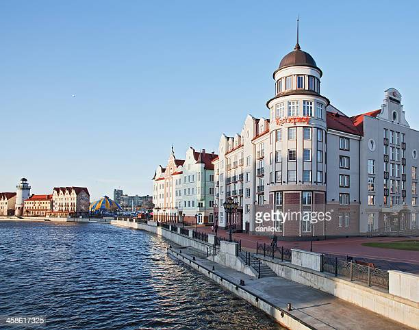 heliopark kaiserhof hotel - kaliningrad stock pictures, royalty-free photos & images