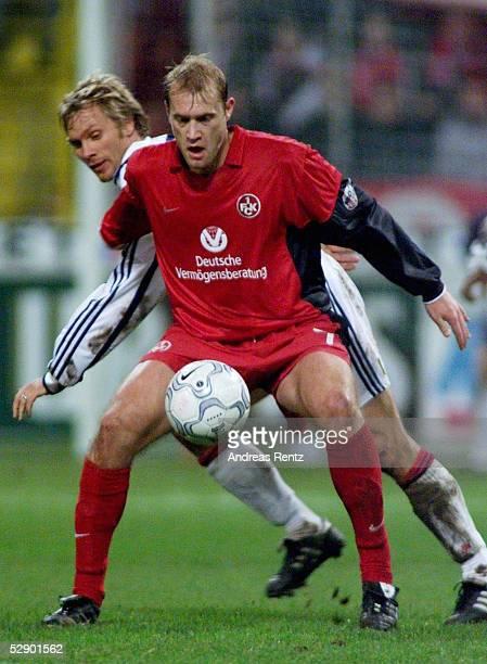 BUNDESLIGA 00/01 Kaiserslautern 1 FC KAISERSLAUTERN FC BAYERN MUENCHEN 00 Thorsten FINK/BAYERN Marian HRISTOV/Kaiserslautern