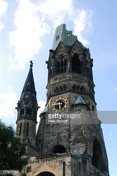 KaiserWilhelmGedächtnisKirche Gedächtniskirche Breitscheidplatz Charlottenburg Berlin Deutschland Europa Sehenswürdigkeit Denkmal Wahrzeichen...