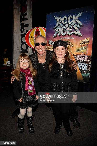 Kaitlin Clutter Musician Dee Snider of Twisted Sister and Alena Galan raise awareness for the Children's Miracle Network at Gotham Comedy Club on...