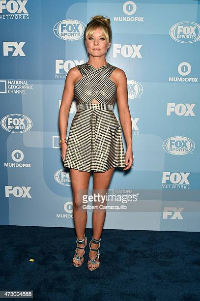 Kaitlin Doubleday attends the 2015 FOX Programming Presentation at Wollman Rink Central Park on May 11 2015 in New York City