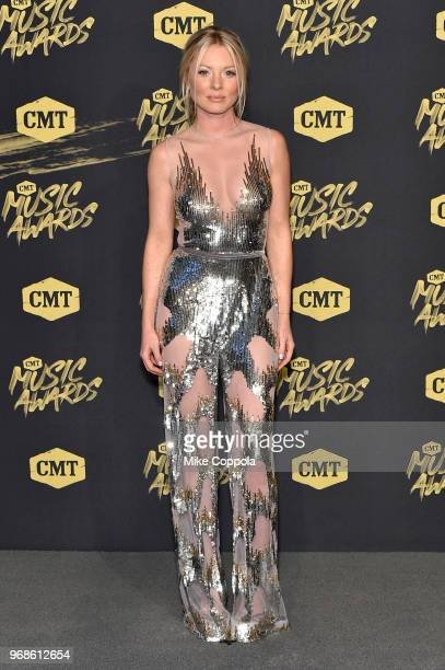 Kaitlin Doubleday attends the 2018 CMT Music Awards at Bridgestone Arena on June 6 2018 in Nashville Tennessee