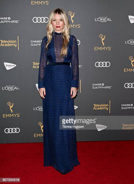 Kaitlin Doubleday attends the Television Academy reception for Emmy Nominees at Pacific Design Center on September 16 2016 in West Hollywood...