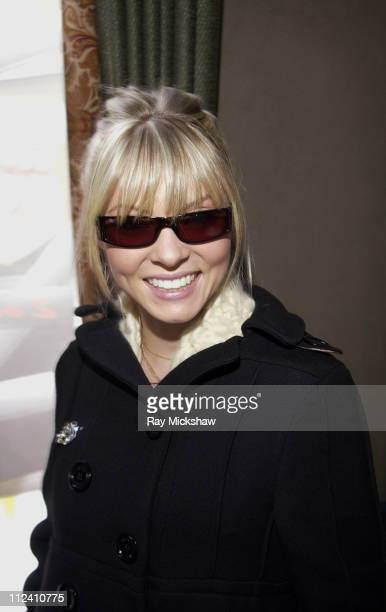 Kaitlin Doubleday in Safilo sunglasses during 2004 Park City HP Portrait Studio Hosted by Wireimage at Hp Portrait Studio in Park City Utah United...