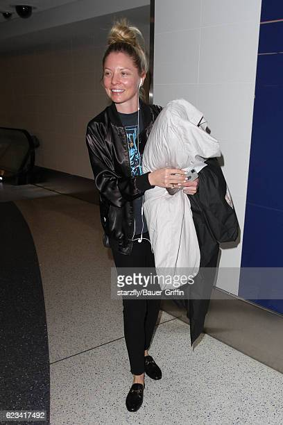 Kaitlin Doubleday is seen at LAX on November 15 2016 in Los Angeles California