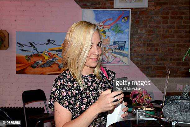 Kaitlin Duffy attends the Lower East Studios Summer Party at The Lucky Bee Hosted by Steve Caputo Rupert Noffs and Chef Matty Bennett at The Lucky...