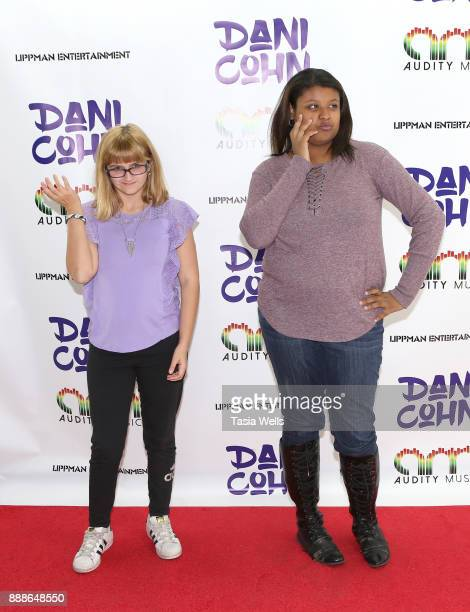 Kaitlin Kolde and Ashley Broussard at Dani Cohn's Single Release Party for #FixYourHeart on December 8 2017 in Burbank California