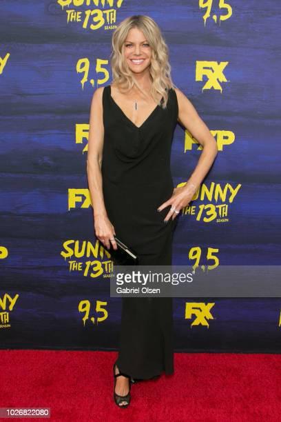 Kaitlin Olson arrives for the premiere of FXX's It's Always Sunny In Philadelphia Season 13 at Regency Bruin Theatre on September 4 2018 in Los...
