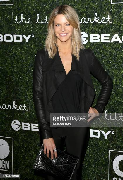 Kaitlin Olson arrives to the 2017 GO Campaign Gala held at NeueHouse Los Angeles on November 18 2017 in Hollywood California
