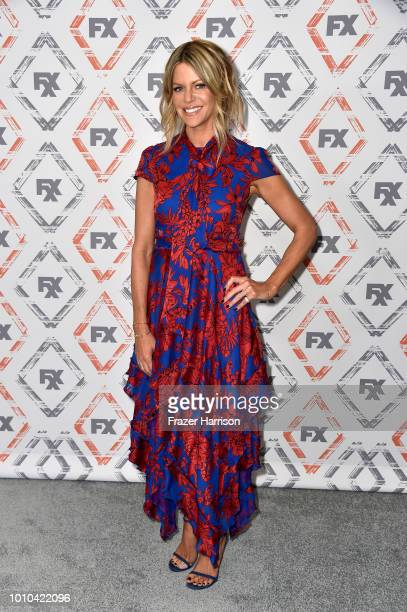 Kaitlin Olson attends FX Networks Starwalk Red Carpet at TCA at The Beverly Hilton Hotel on August 3 2018 in Beverly Hills California