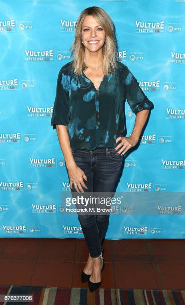 Kaitlin Olson attends the Vulture Festival Los Angeles at the Hollywood Roosevelt Hotel on November 19 2017 in Hollywood California