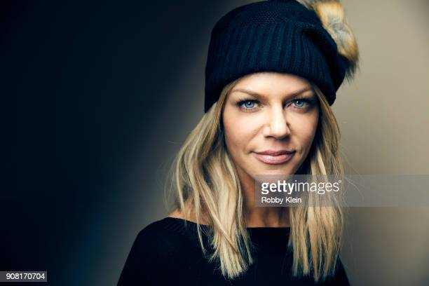 Kaitlin Olson from the film 'Arizona' poses for a portrait at the YouTube x Getty Images Portrait Studio at 2018 Sundance Film Festival on January 19...