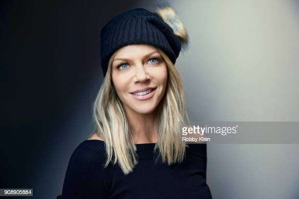 Kaitlin Olson from the film 'Arizona' poses for a portrait at the YouTube x Getty Images Portrait Studio at 2018 Sundance Film Festival on January 21...
