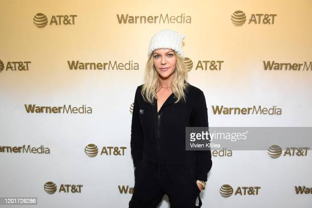 Kaitlin Olson stops by WarnerMedia Lodge Elevating Storytelling with ATT during Sundance Film Festival 2020 on January 24 2020 in Park City Utah