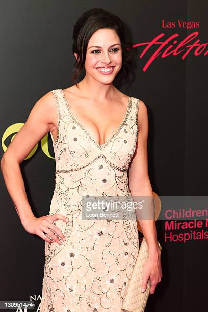 Kaitlin Riley arrives at the 38th Annual Daytime Entertainment Emmy Awards for Soap Opera Weekly at Hilton Hotel And Casino Resort on June 19 2011 in...