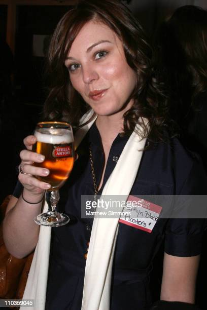 Kaitlyn Black attends the Producers Guild reception at the Stella Artois Cutting Room during 2008 Sundance Film Festival on January 23 2008 in Park...