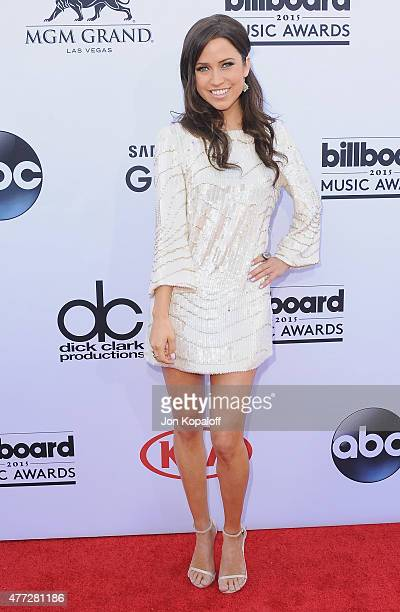 Kaitlyn Bristowe arrives at the 2015 Billboard Music Awards at MGM Garden Arena on May 17 2015 in Las Vegas Nevada