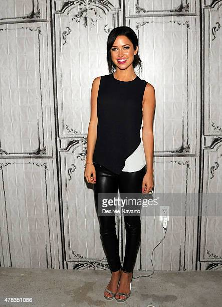 Kaitlyn Bristowe attends AOL Build Presents ABC's The Bachelorette Kaitlyn Bristowe at AOL Studios In New York on June 24 2015 in New York City