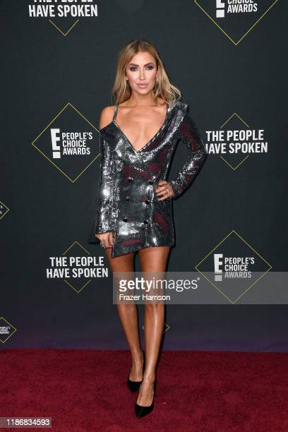 Kaitlyn Bristowe attends the 2019 E People's Choice Awards at Barker Hangar on November 10 2019 in Santa Monica California