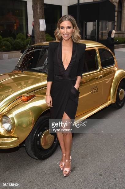 Kaitlyn Bristowe attends the PANDORA Jewelry Shine Collection Launch with Ciara on March 14 2018 in New York City