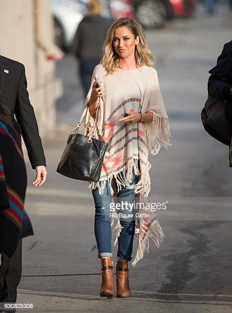 Kaitlyn Bristowe is seen at 'Jimmy Kimmel Live' on January 02 2017 in Los Angeles California