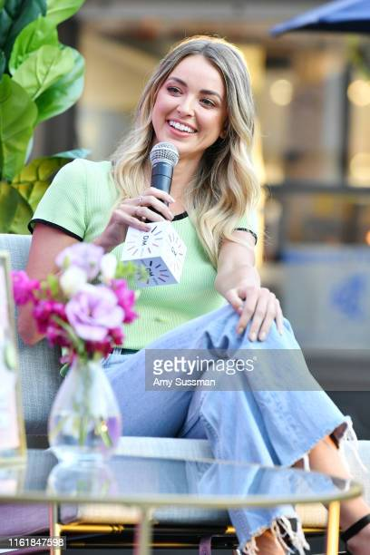 Kaitlyn Carter attends a live podcast taping at The Park at The Grove on August 15 2019 in Los Angeles California