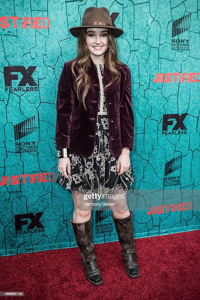 "Premiere Of FX's ""Justified"" Series Finale - Arrivals"