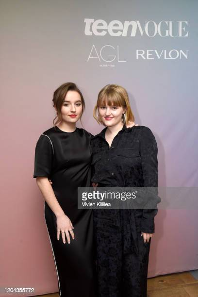 Kaitlyn Dever and Mady Dever attend Teen Vogue Celebrates Young Hollywood 2020 at San Vicente Bungalows on February 05 2020 in West Hollywood...