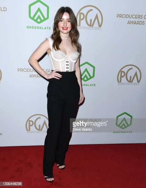 Kaitlyn Dever arrives at the 31st Annual Producers Guild Awards at Hollywood Palladium on January 18, 2020 in Los Angeles, California.