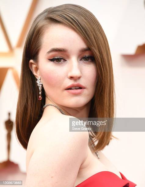 Kaitlyn Dever arrives at the 92nd Annual Academy Awards at Hollywood and Highland on February 09 2020 in Hollywood California